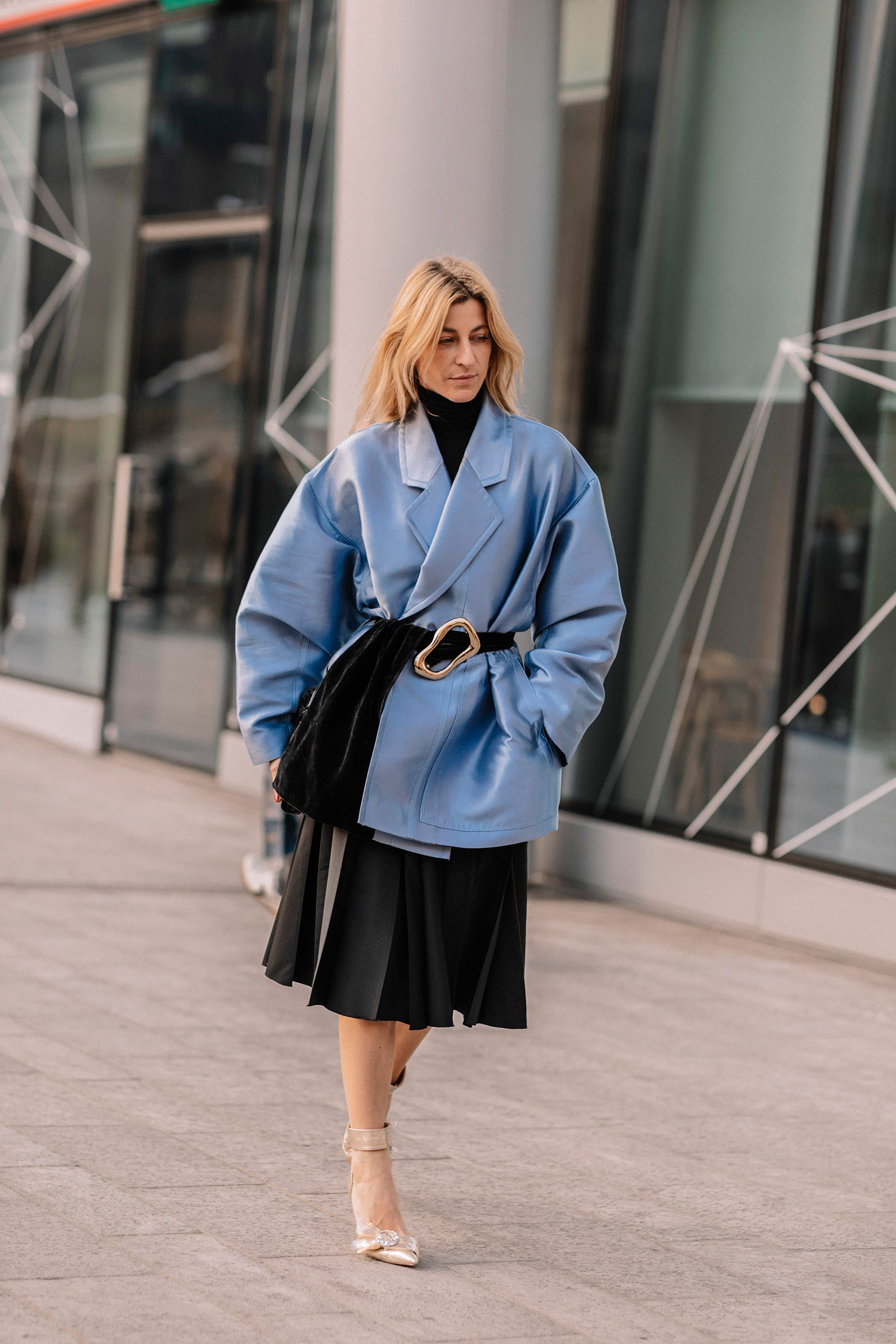 7c8d9bdd0a74 Milan Fashion Week Winter 2019 Best Street Style