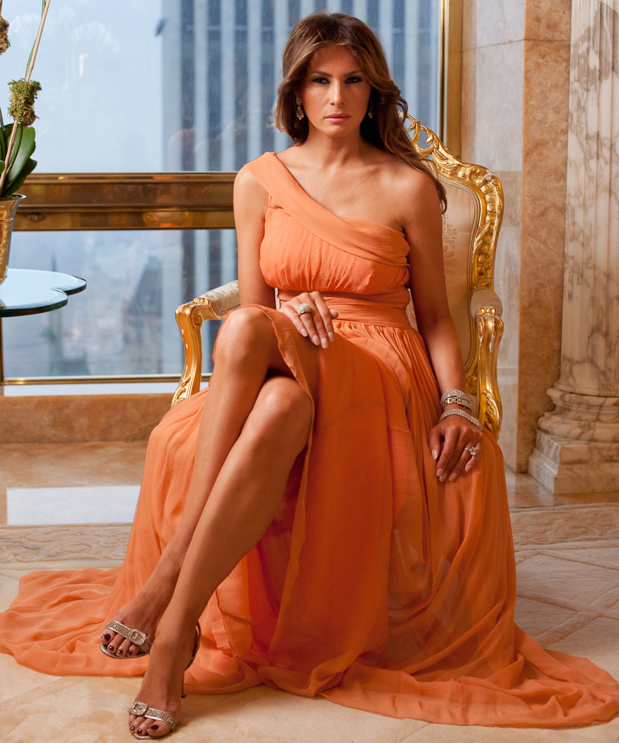 Donald Trump Tower Home Tour Melania Trump Interview