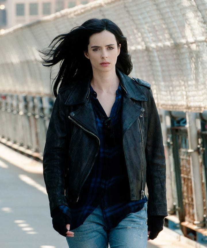 Jessica Jones Spider Man Joke Season 2