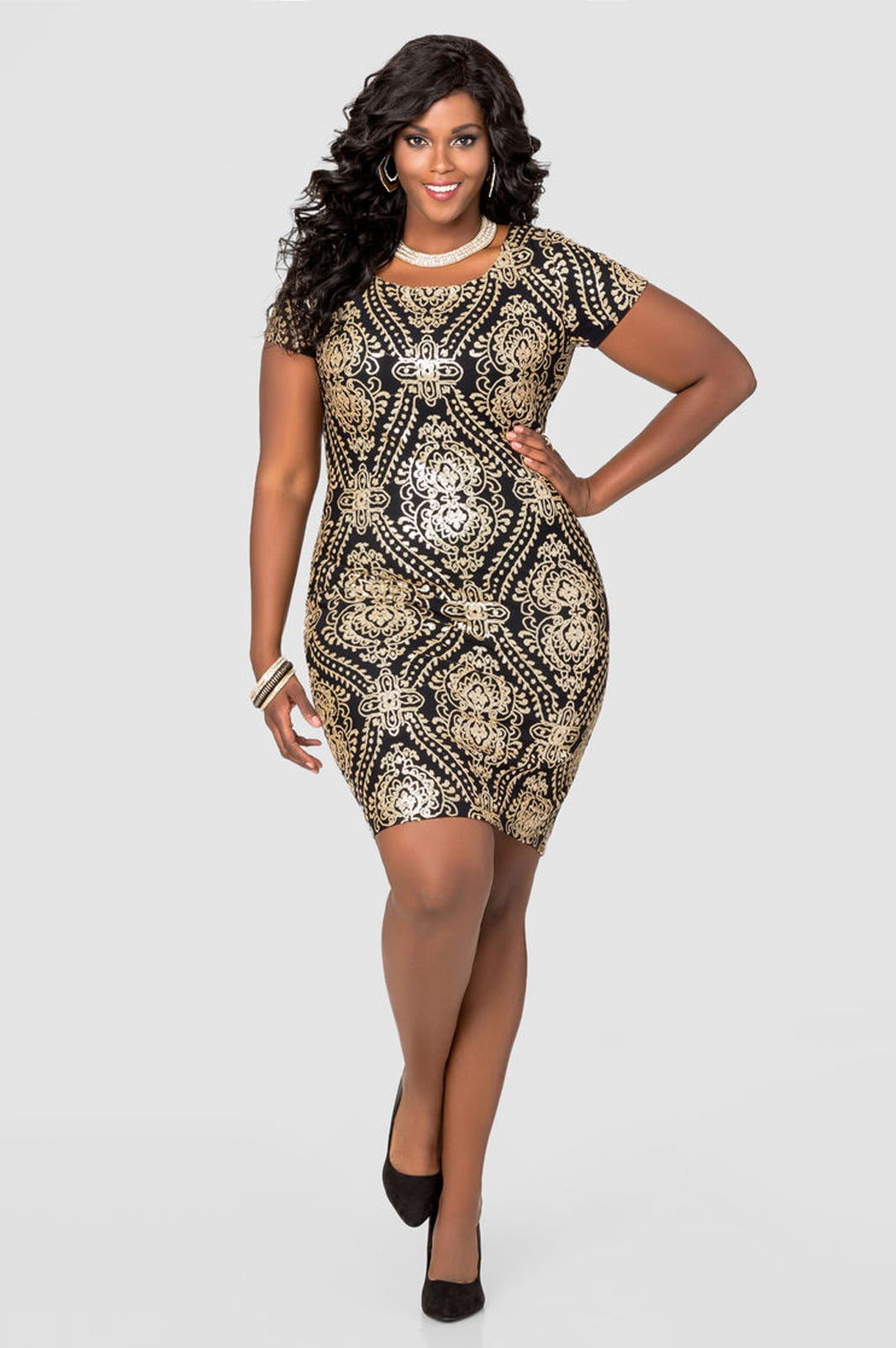 abf02ad243e Plus Size Dresses Holiday Outfits