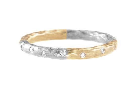 Pamela Froman Harlequin Sparkle Stackable Ring