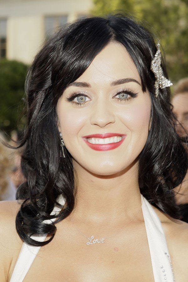 Katy Perry Birthday, Hair Makeup Trends Best Photos