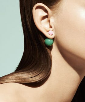 Yes These New Earrings From Dior S Mise En Collection May Be Simple But Don T Fooled Bad Boys Make A Serious Statement