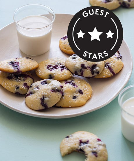 These Blueberry-Yogurt Cookies Just Made Your Weekend
