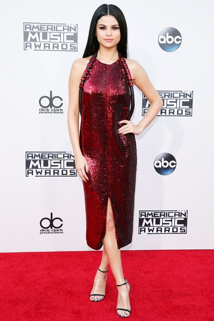 Selena Gomez Reps This Year S Version Of The Peplum Dress