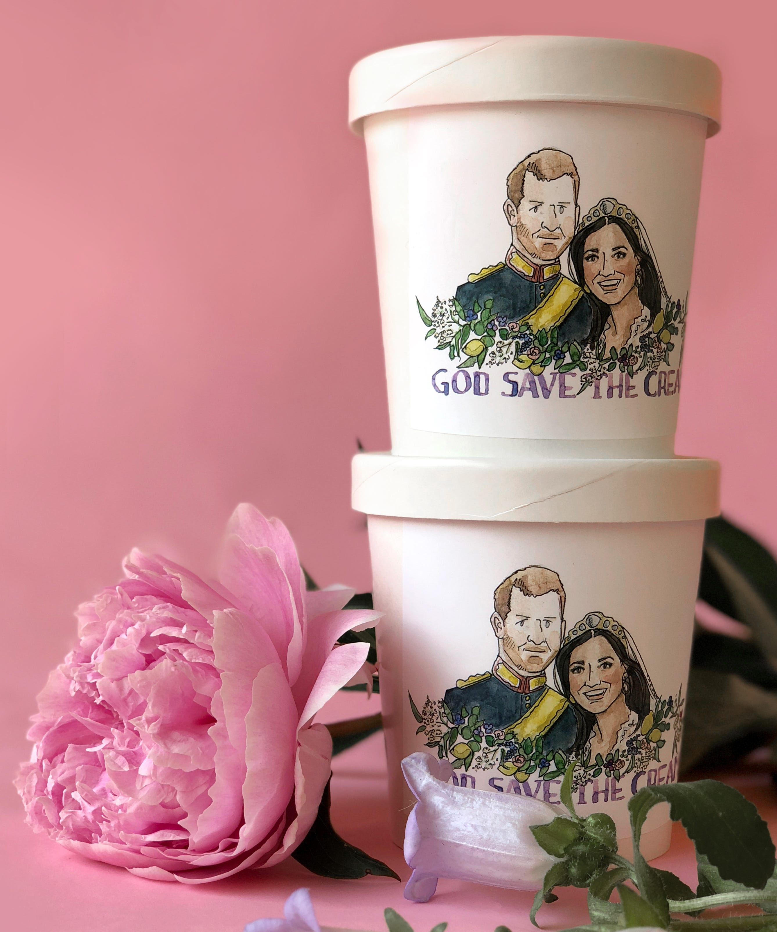 Royal Wedding Themed Desserts - Cupcakes, Donuts To Buy