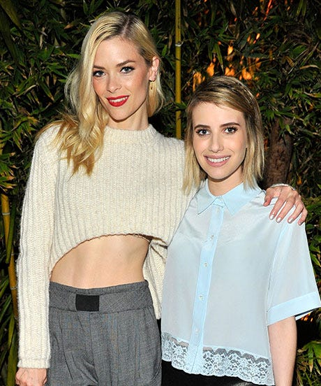 Jamie-King-&-Emma-Roberts_Sandro-Paris-Celebration_3.20.2014