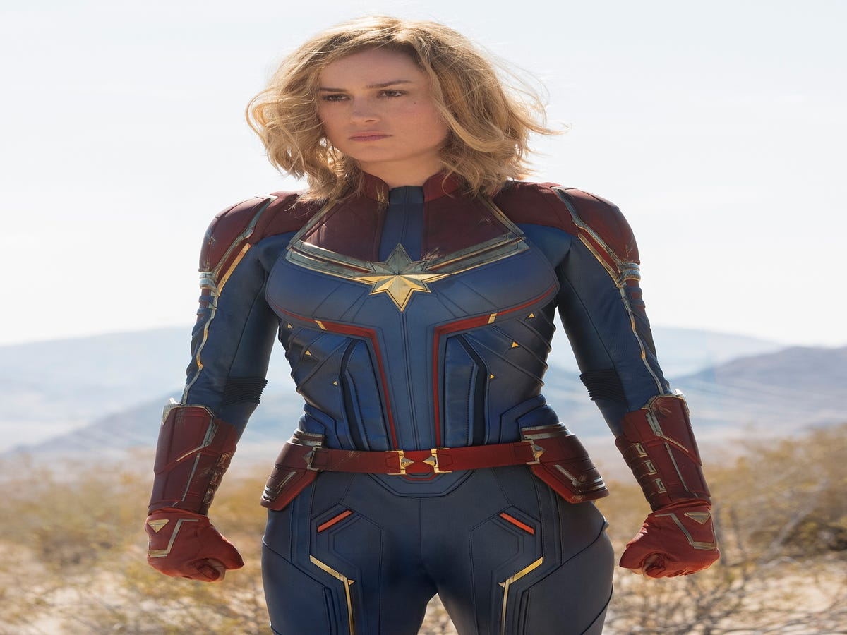 Mohawks, Highlights, &  90s Hair: Inside Brie Larson s Captain Marvel Makeover