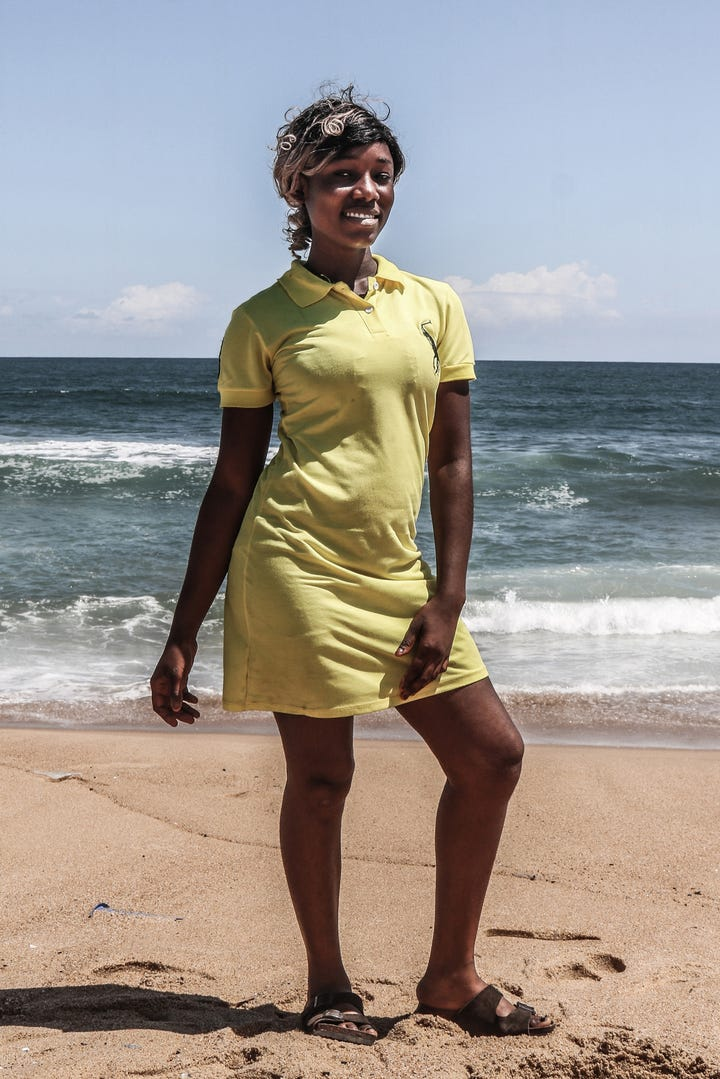 Sexy liberian women