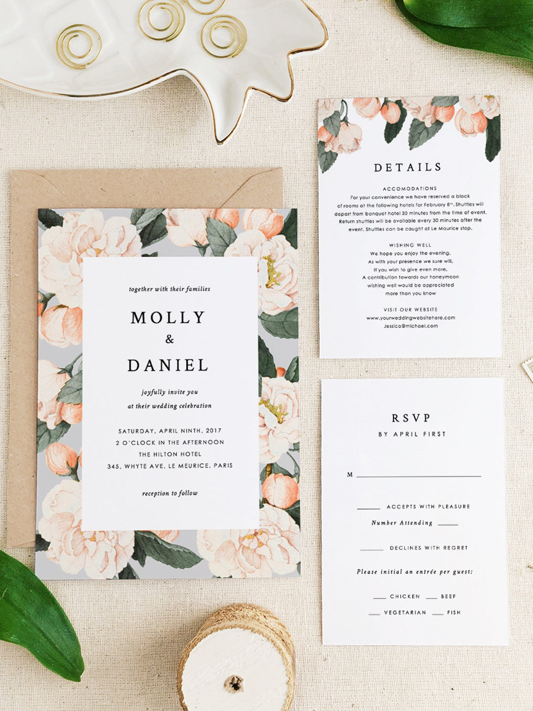 Best Etsy Wedding Invites Stationery Invitations Design