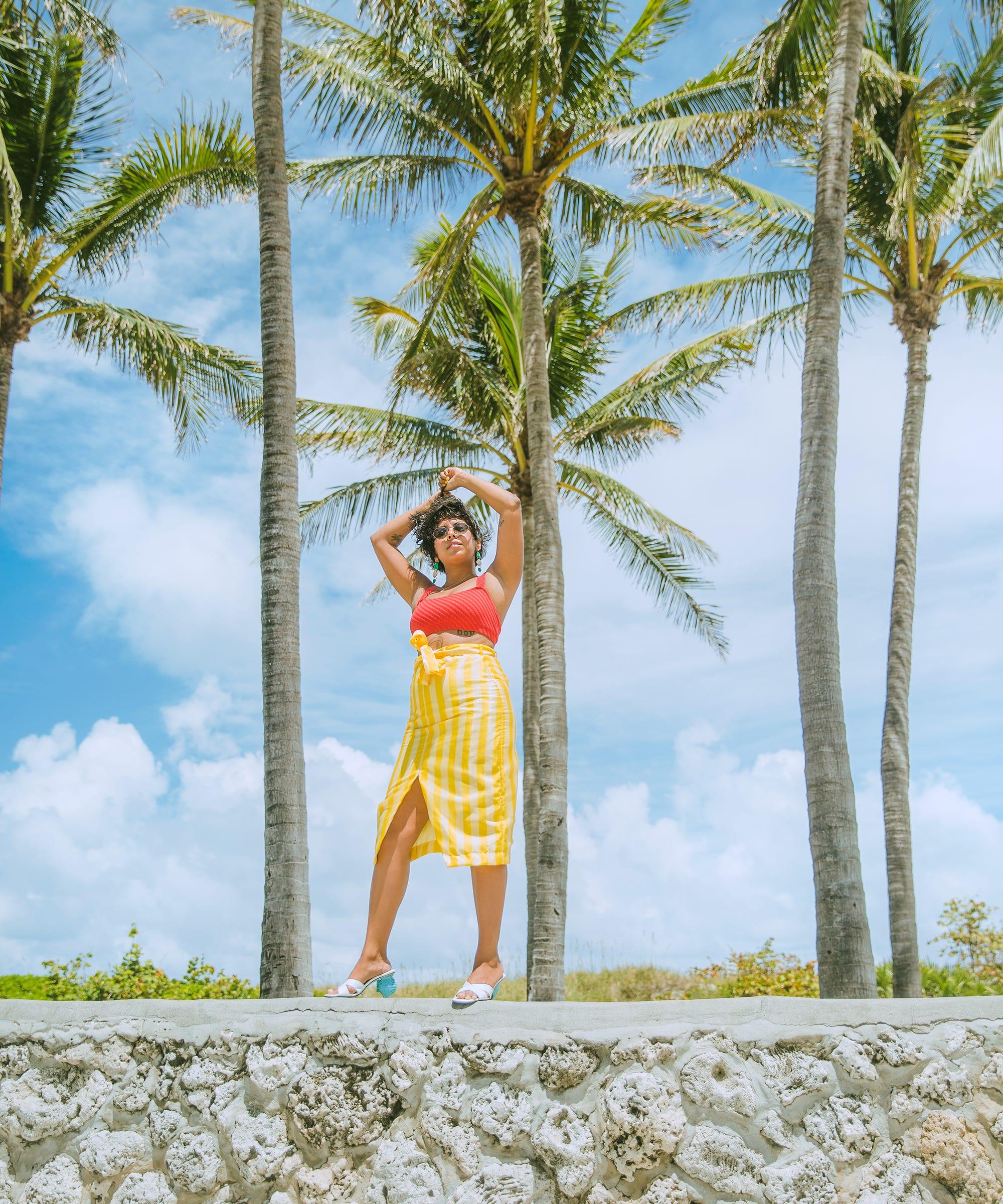 Cute Palm Tree Tattoo Designs Ideas For Beach Lovers