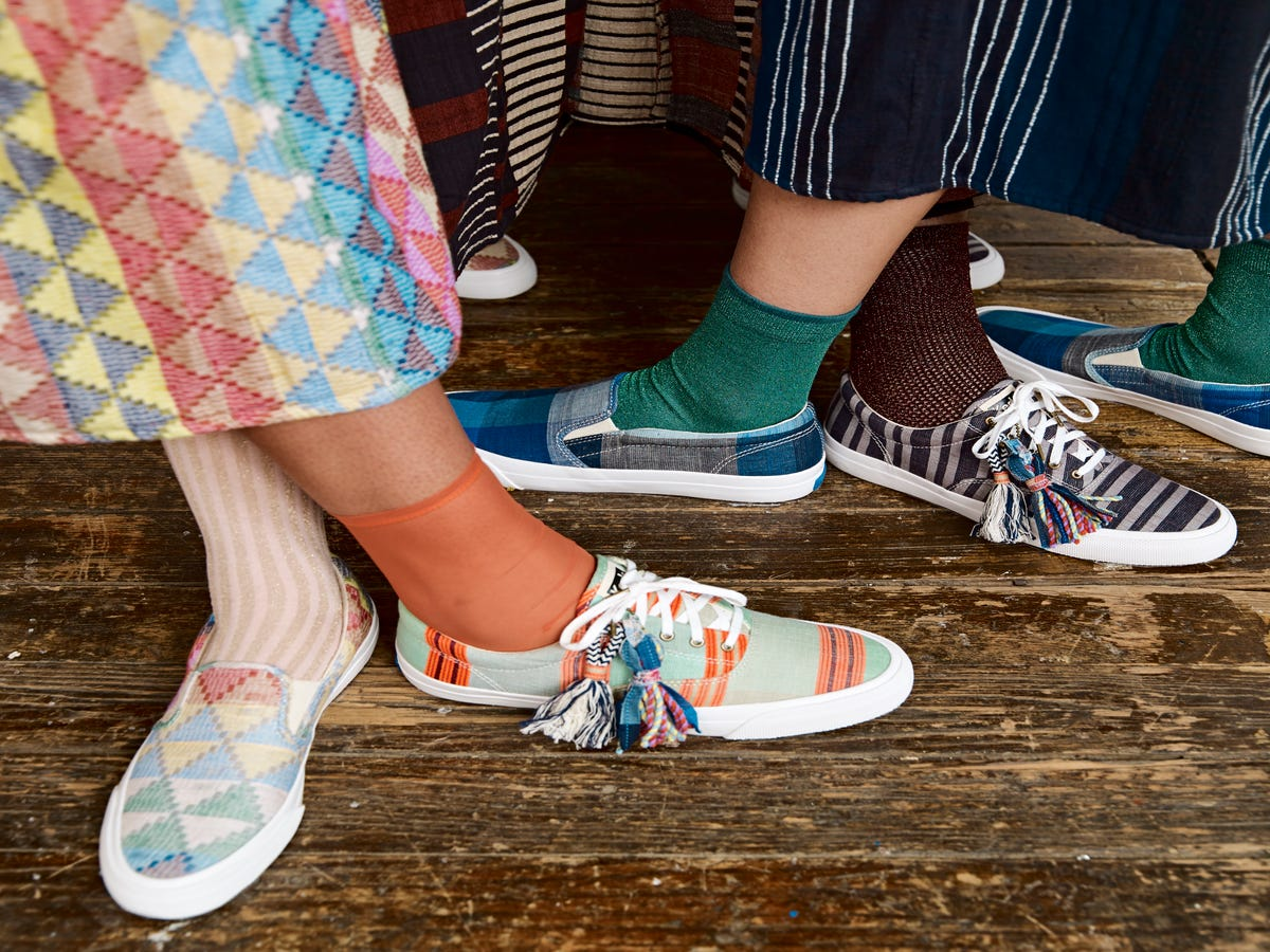 This Recycled Textiles Keds Collaboration Is Super Limited & Selling Out Fast