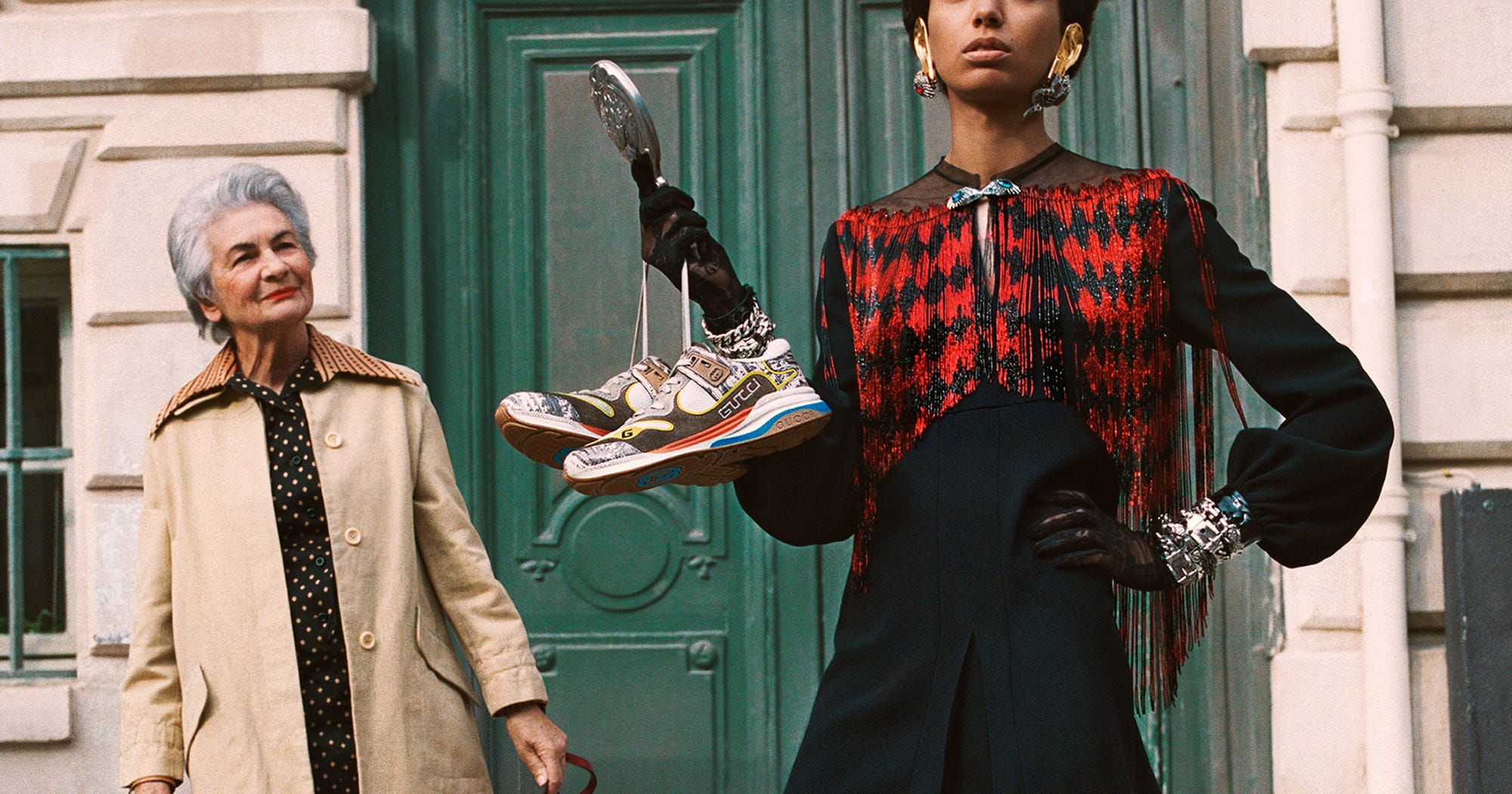 Gucci's Latest Campaign Is A Tribute To The Heyday Of Ready-To-Wear