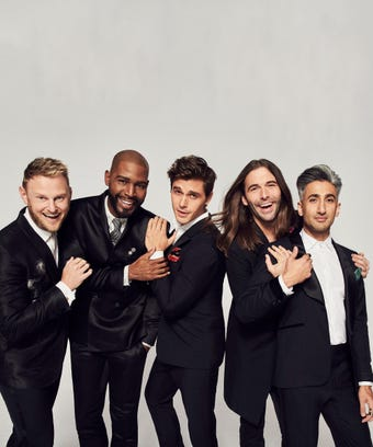 The Fab 5 from Netflix's Queer Eye