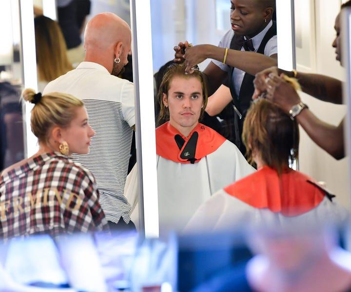 Justin Bieber Got A Spontaneous New Haircut 2018