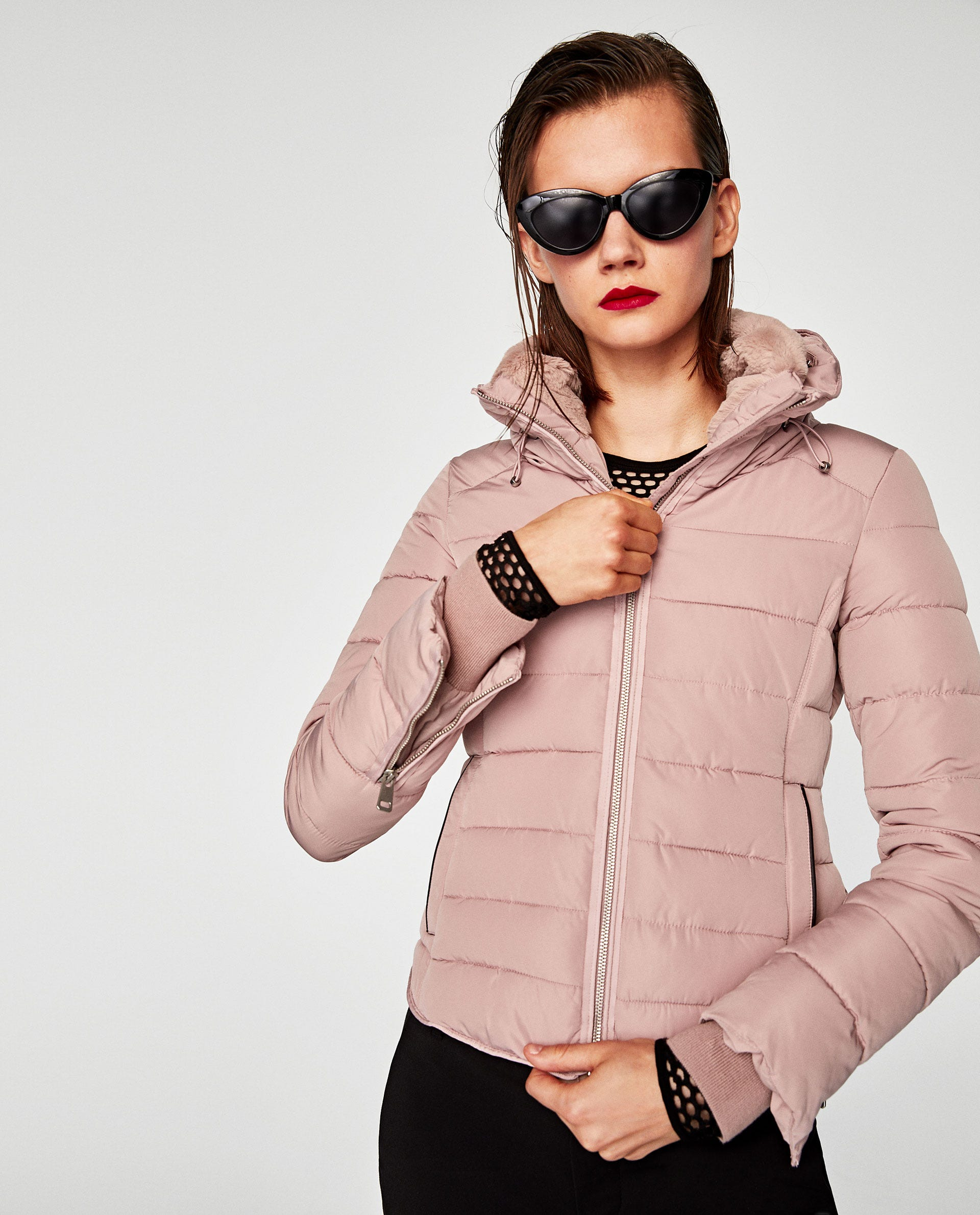 8f7bca434 Quilted Jacket with Hidden Hood