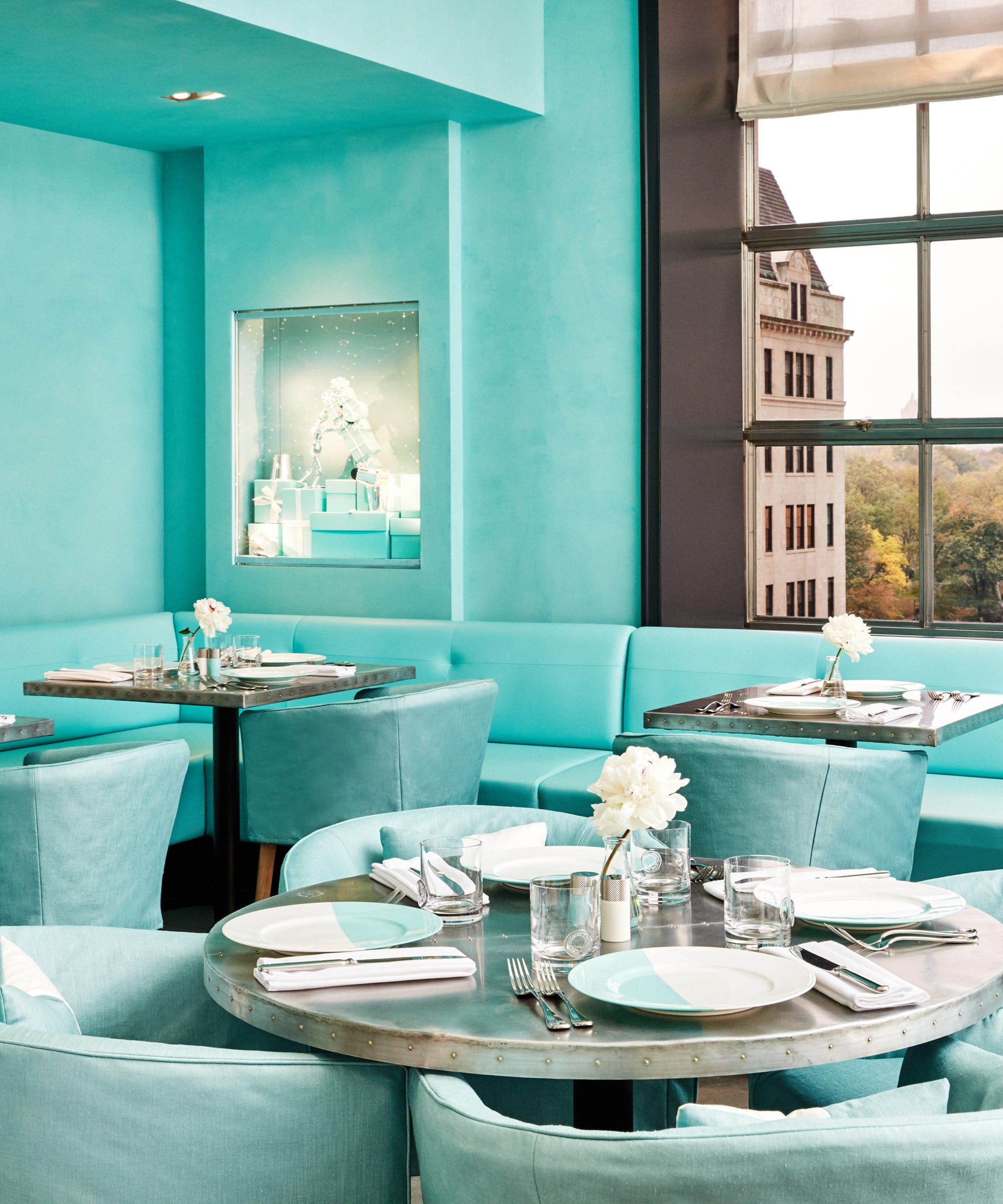 Tiffany Co Blue Box Cafe Fifth Avenue Flagship Store