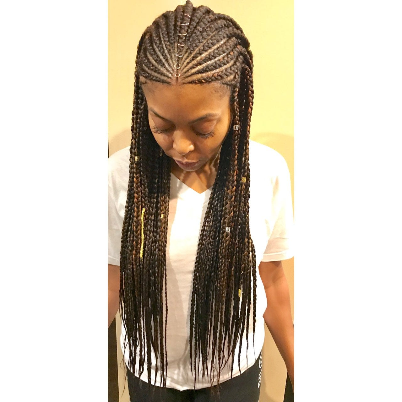 Easy How To Do Box Braids Step By Step