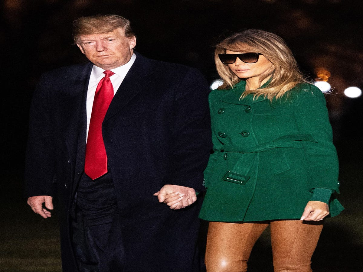 A Funny Thing Happened When Melania Trump Got Dressed Yesterday