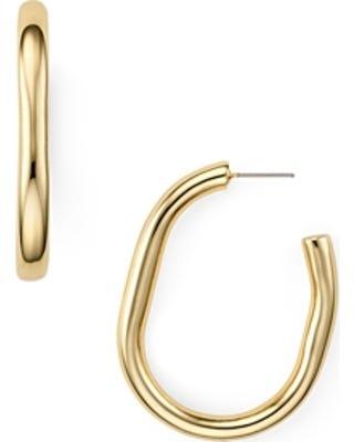ecf59a71d345f Chunky Tubular Hoop Earrings