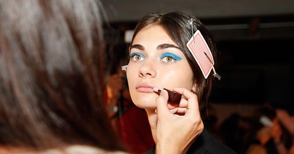 Blue Eyeshadow: It's Baaack
