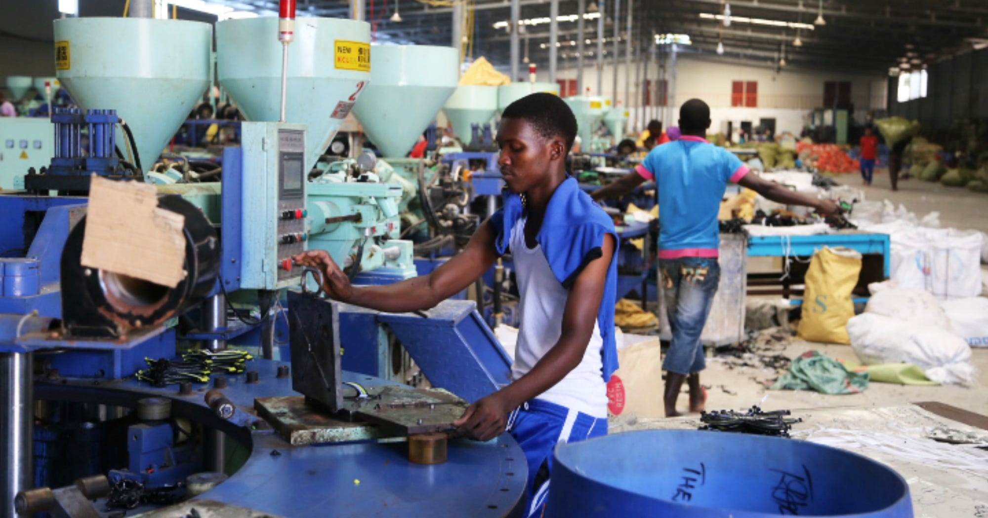 a21a230d8d5b5e Counterfeit Shoes Sweatshop Tanzania Chinese Investment