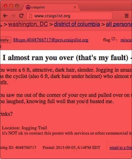washington dc craigslist ads-funny missed connections