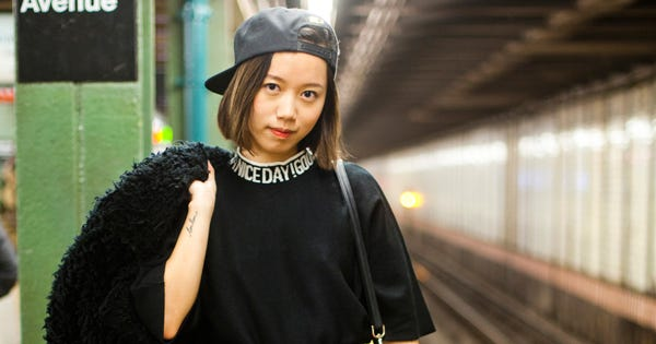 25 Snaps Of The Subway's Most Stylish Commuters