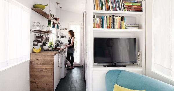 This Tiny House Fits An Entire Family — Including A Great Dane