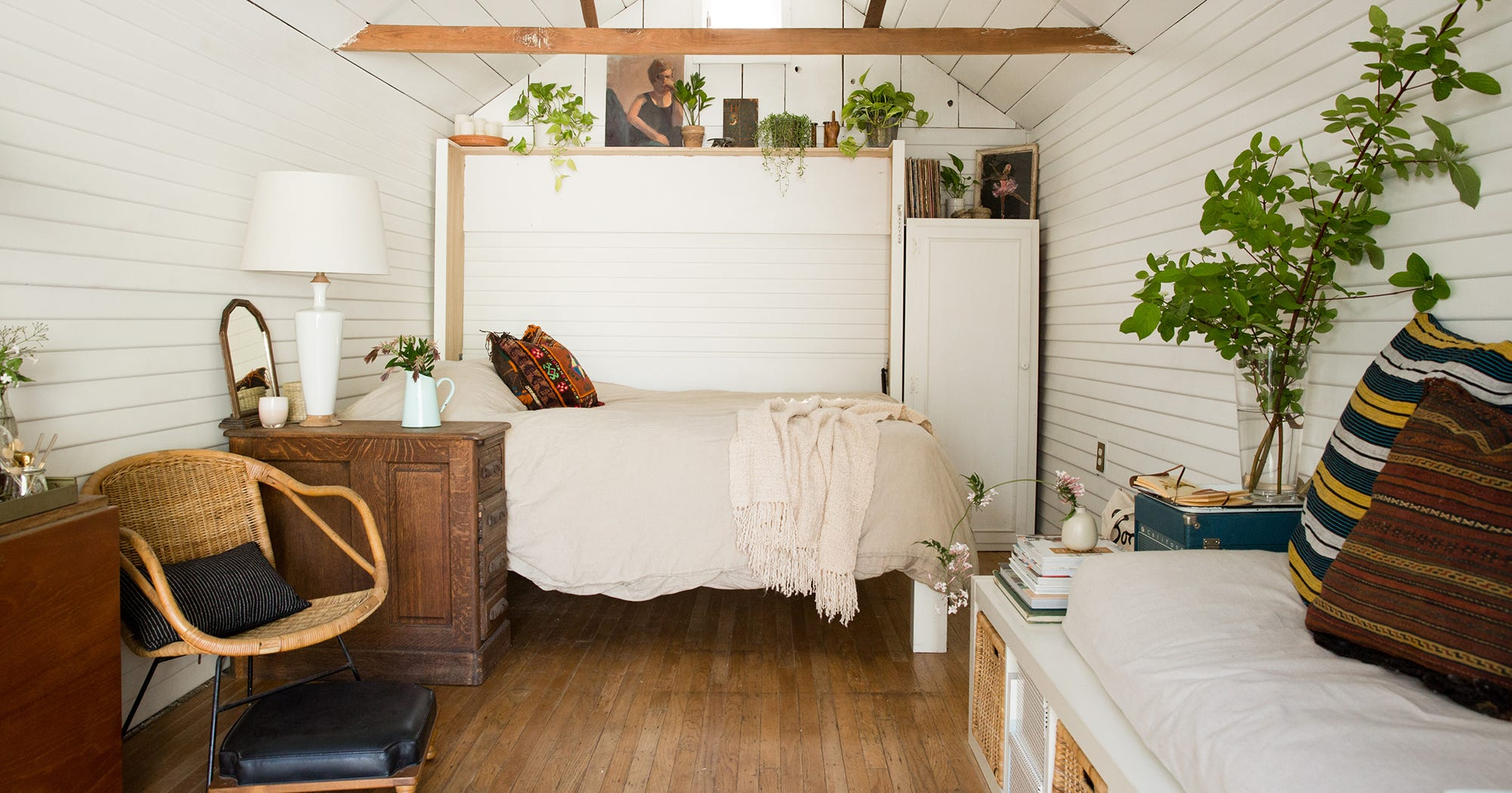 This Couple Lives In Grandma's Garage — & It's Amazing