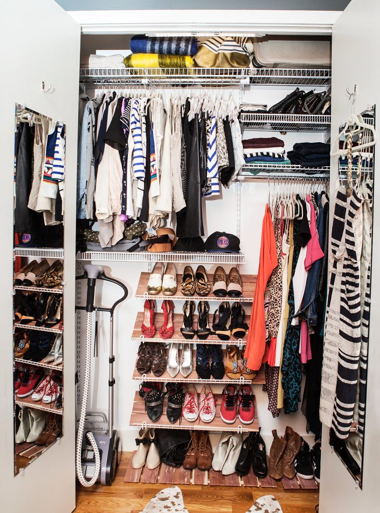 Organizing Clothes Closet Ideas Part - 44: Refinery29
