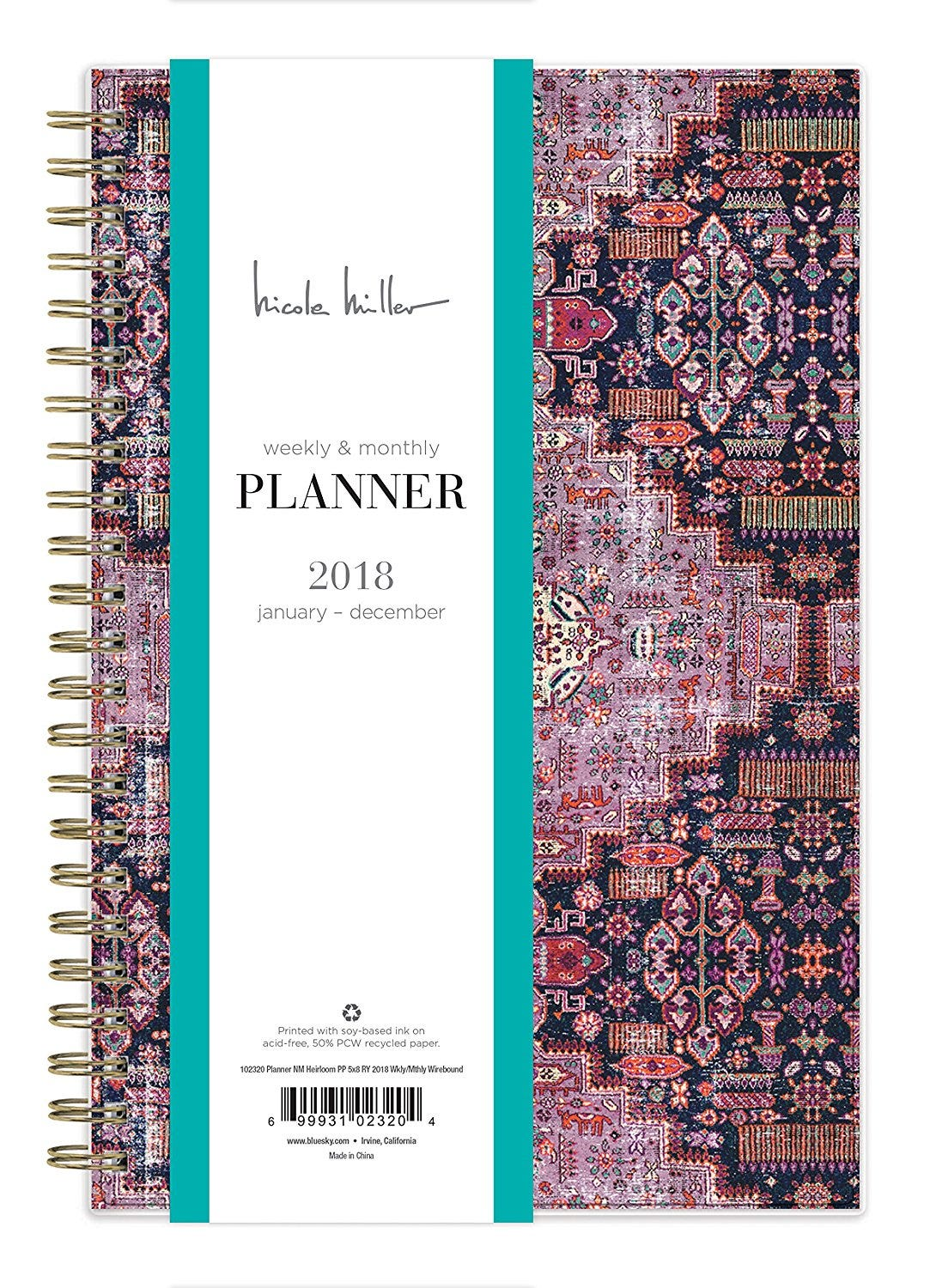 best planners for 2018 organization goals