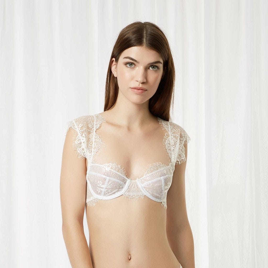 d30fd0367da Elegant Bridal Lingerie Sexy Wedding Underwear