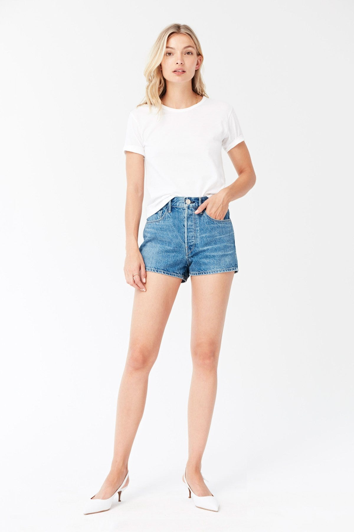 24 Denim Shorts That Are Always Cool, Never Basic