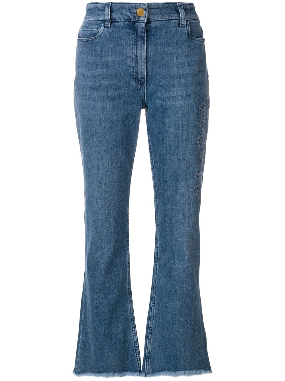 0601e647 Embroidered High-rise Jeans