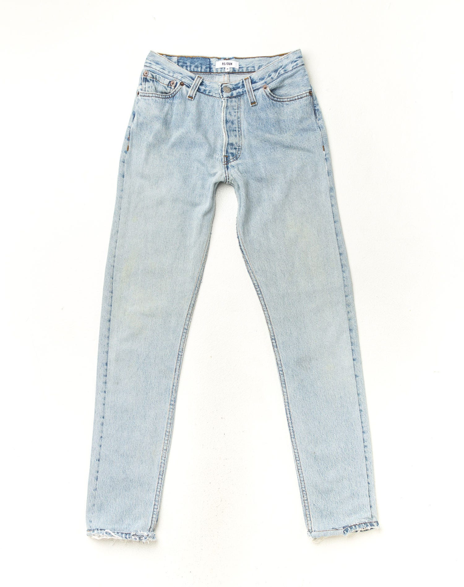 Learn About Denim Fashion Terms Vintage Skin Rip Off Stretch Soft Jeans