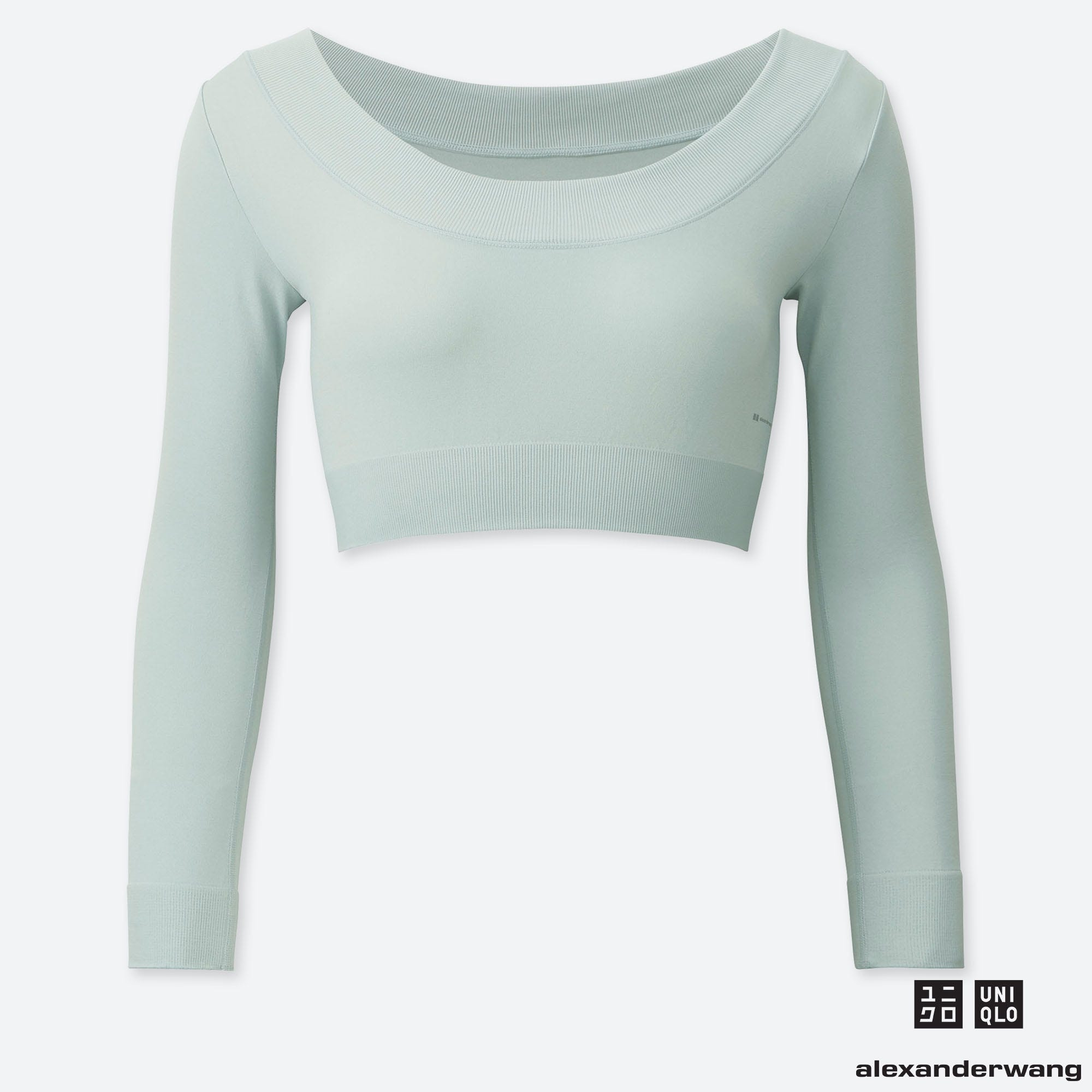 AIRism Seamless Cropped Long-Sleeve Tee