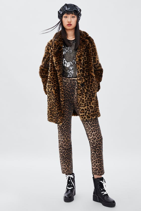 ff225838a074 Best Leopard Print Coats To Keep You Warm Winter 2018