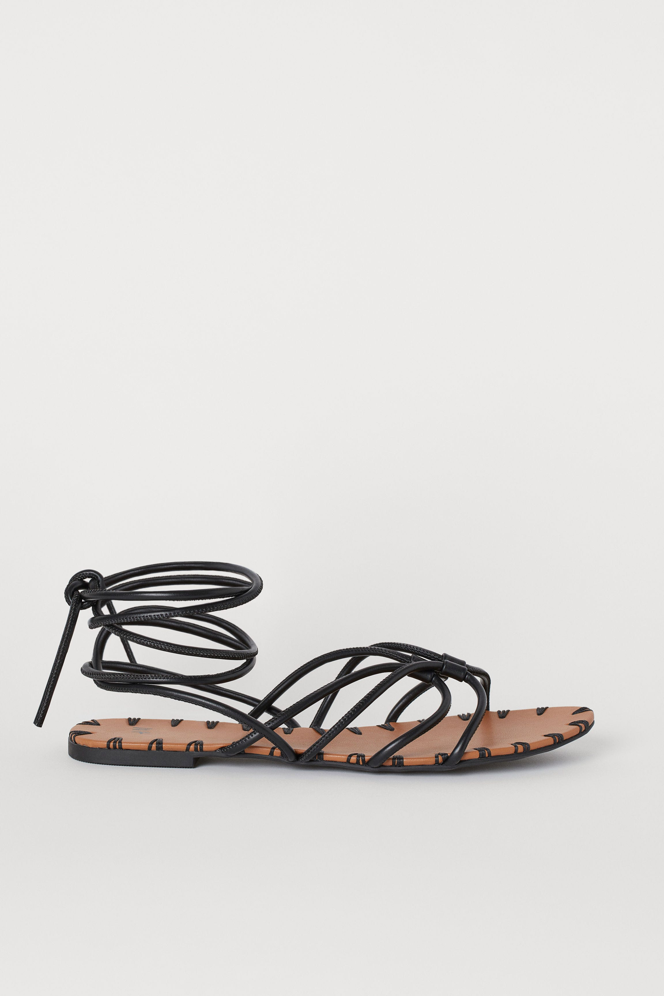 a0d2e3e3a28 Lace Up Flat Sandal Spring Shoe Trends