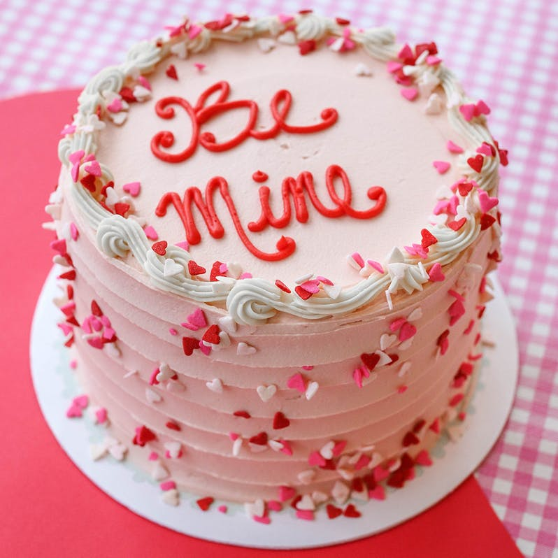 Magnolia Bakery Valentines Day Confetti Cake