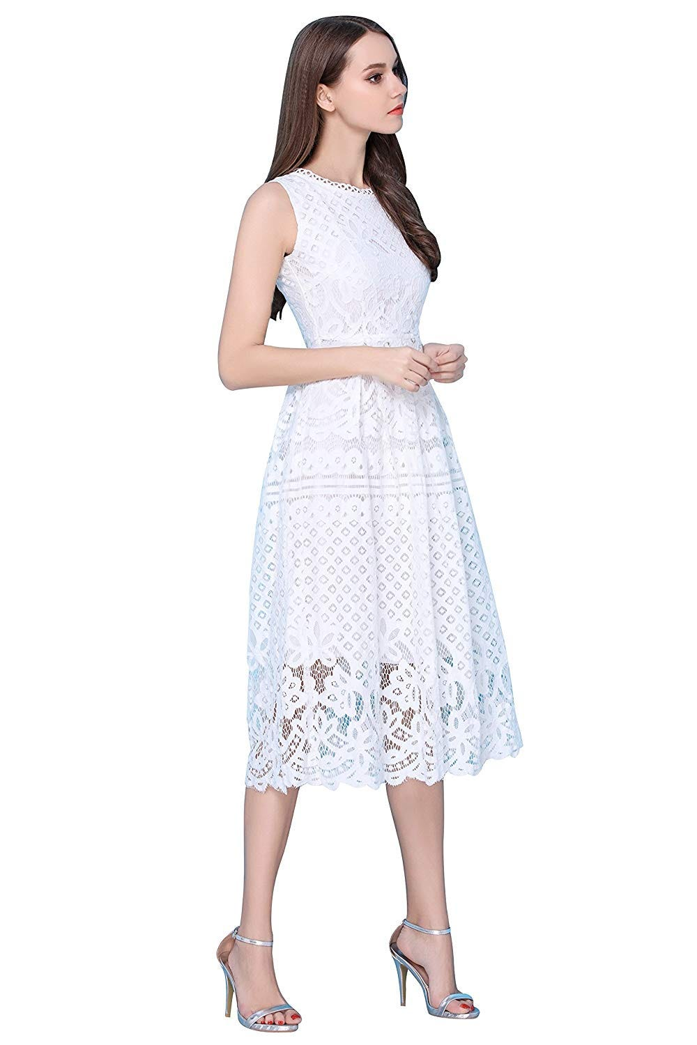 4d770889e20 Fashionable White Dresses For Graduation   Summer 2019