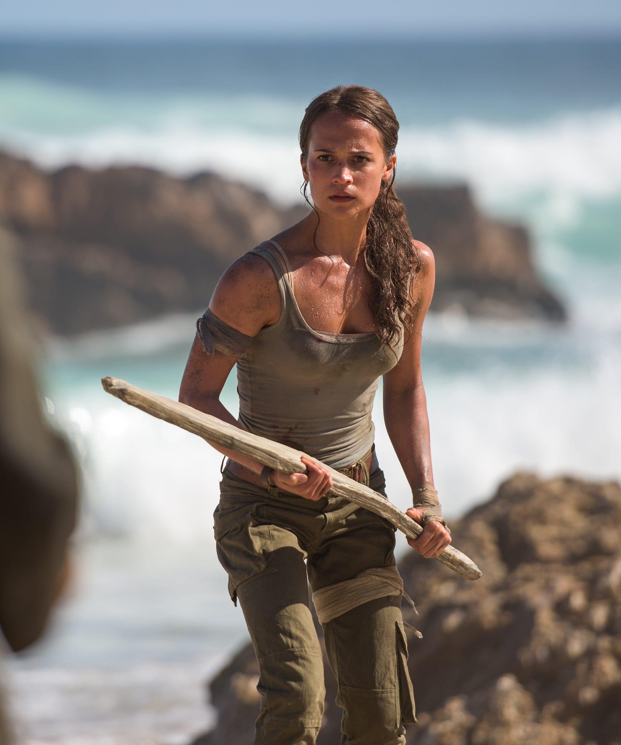 Is Lara Croft Tomb Raider Alicia Vikander Feminist