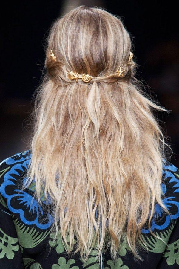Mermaid Hairstyles Valentino Fashion Week Spring 2015