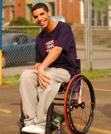 Drake Degrassi Toronto Wheelchair Meme