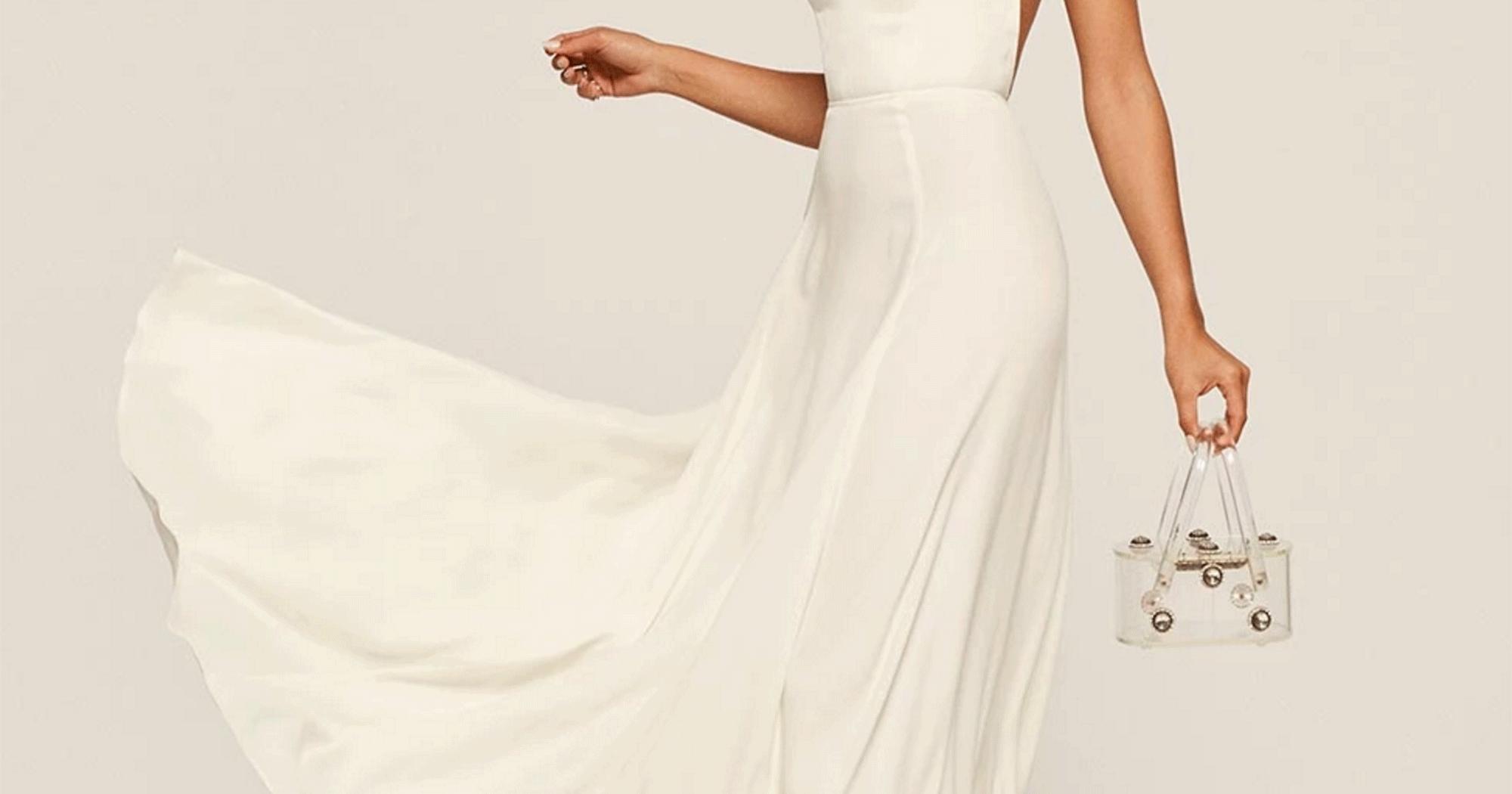 Alimac Festas Inexpensive Modern Wedding Dresses