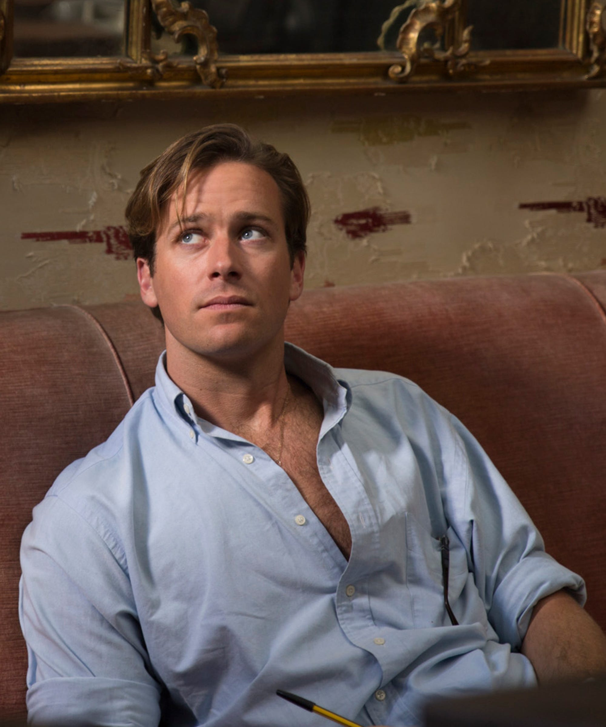 Armie Hammer Call Me By Your Name Parenting