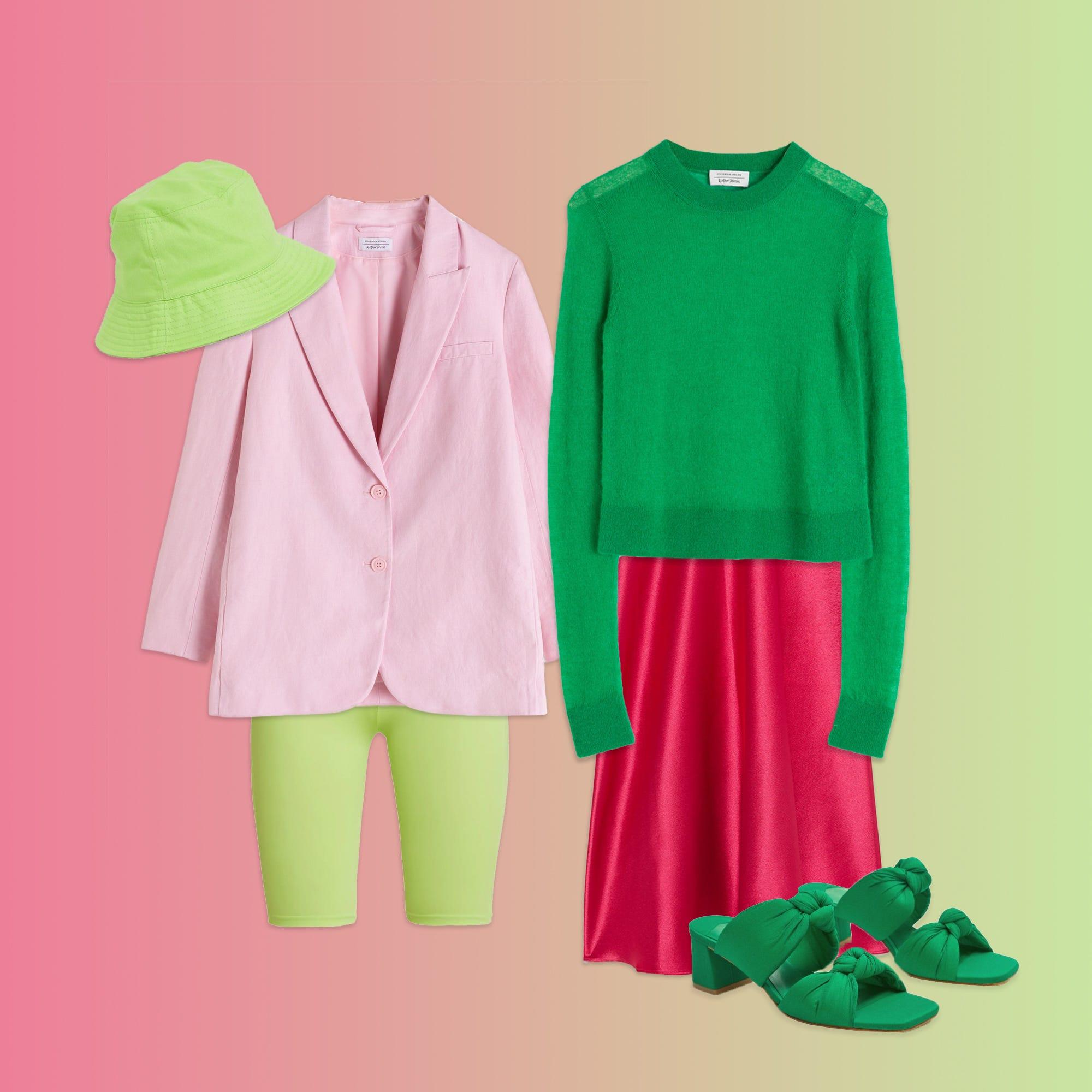 Die It Farbkombi des Sommers lautet Pink und Grün