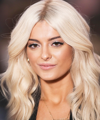 Bebe Rexha Platinum Blonde Bleached Hair Castor Oil Use