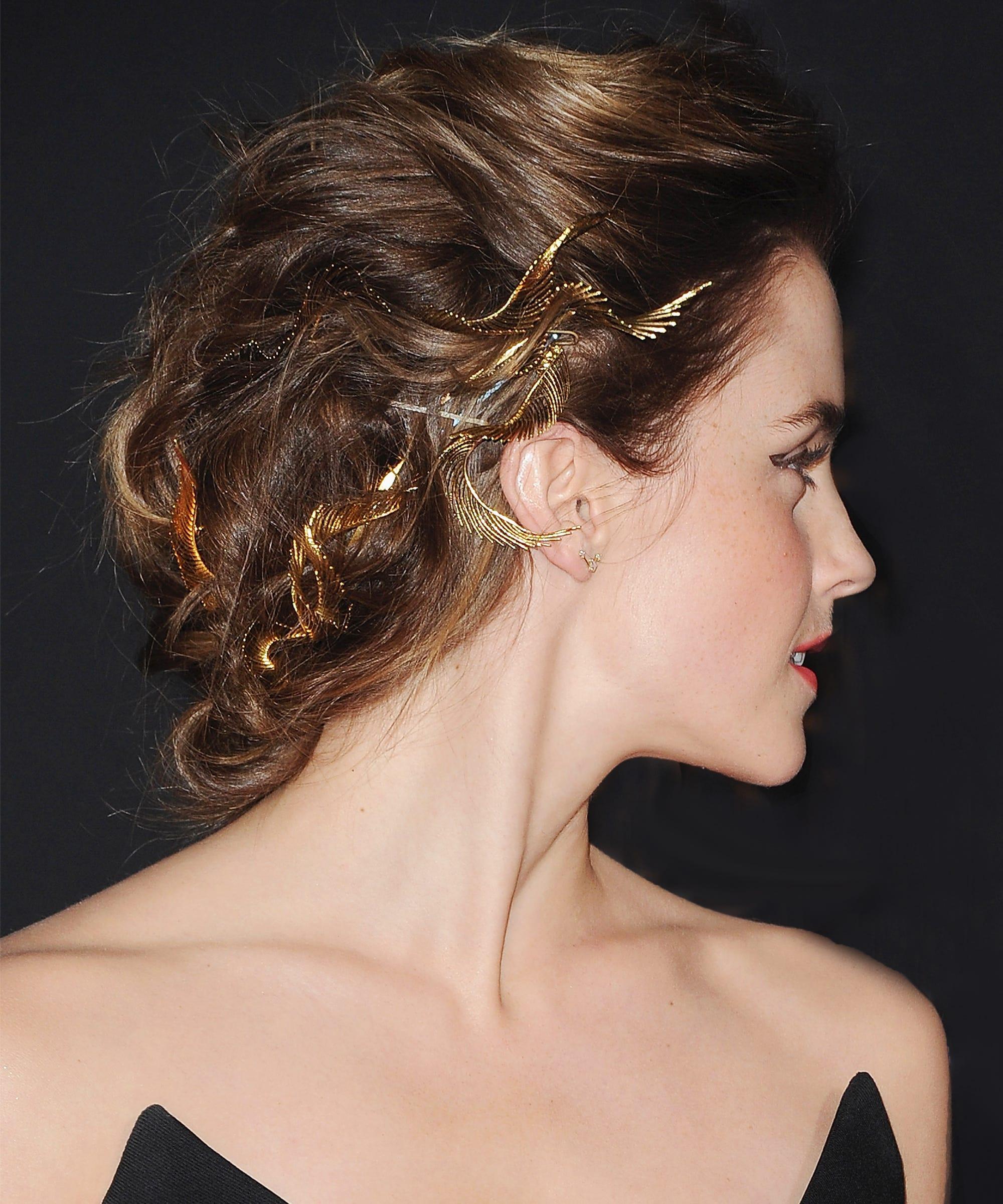 Emma Watson Beauty And The Beast Harry Potter Hair