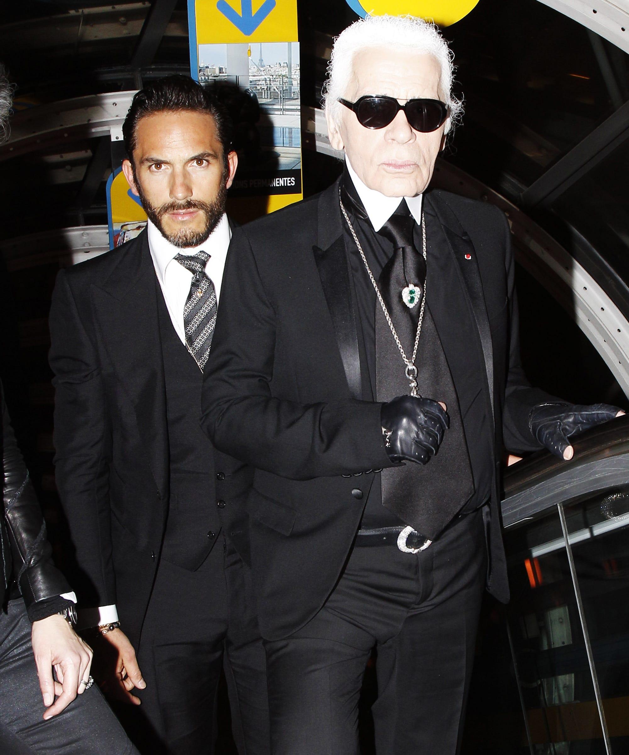 Karl Lagerfeld Hot Bodyguard Is Now A Fashion Designer